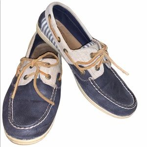 Sperry Koifish Stripe Woman's Top sider Boat Shoe